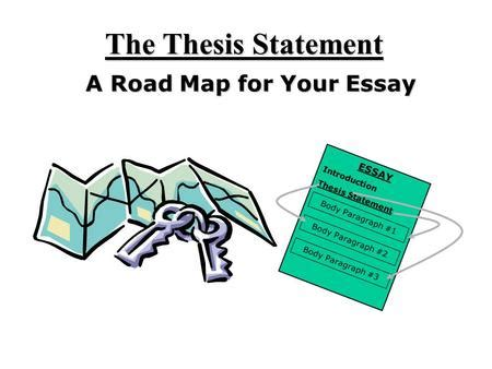 Creating and using thesis statements