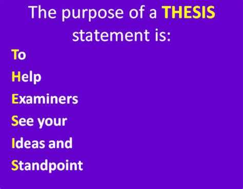 Thesis Statement Generator - Make Your Perfect Thesis